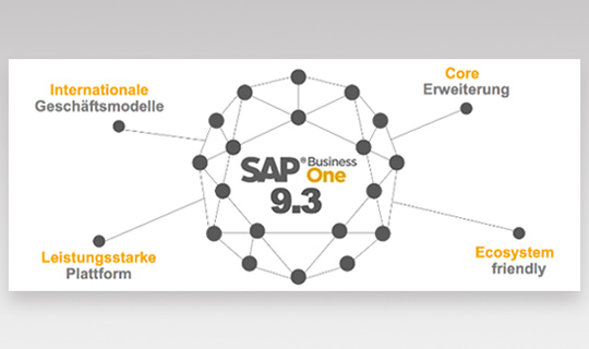 SAP Business One Version 9.3 Neuerungen